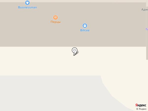 Businessman на карте Красноярска