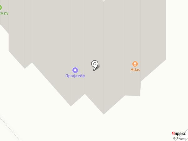 Клининг Тайм на карте Красноярска