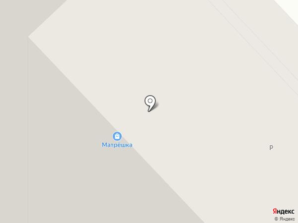 Гастроном на карте Красноярска
