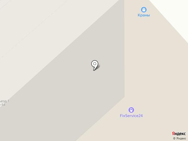 ViRus на карте Красноярска