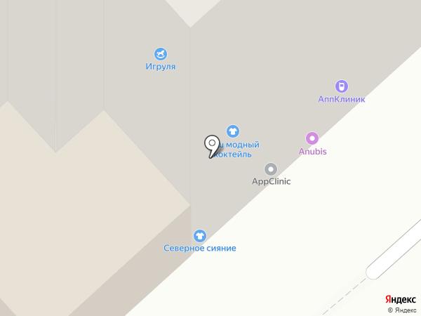 Север-Альфа на карте Красноярска