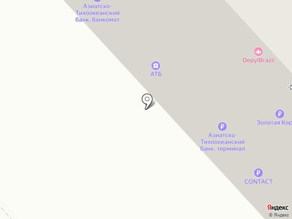 Олимп на карте Красноярска