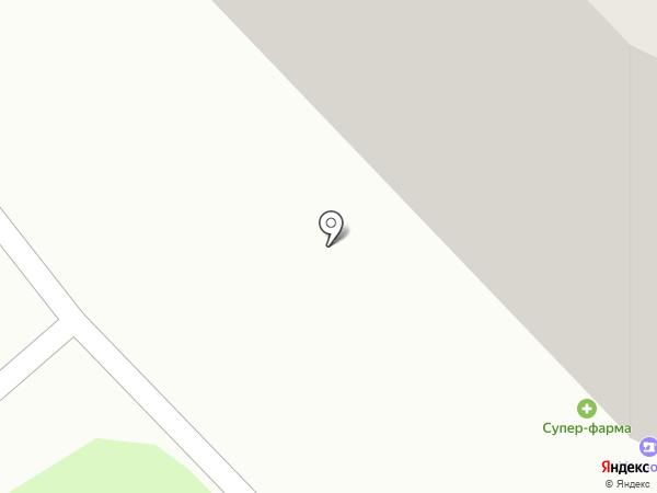 Красключ на карте Красноярска