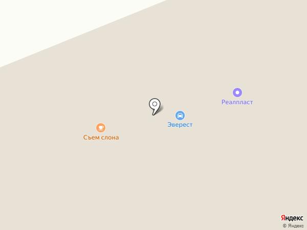 Старвей-Транзит на карте Красноярска