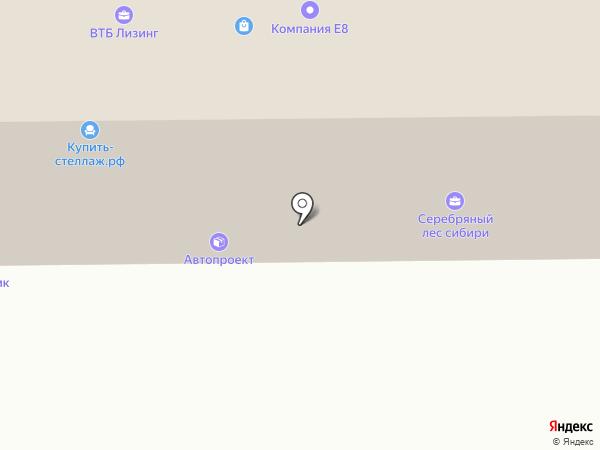 KRASUBER на карте Красноярска
