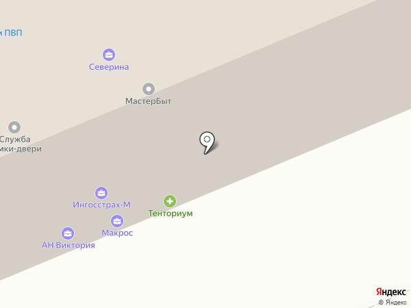 Производственная компания на карте Красноярска
