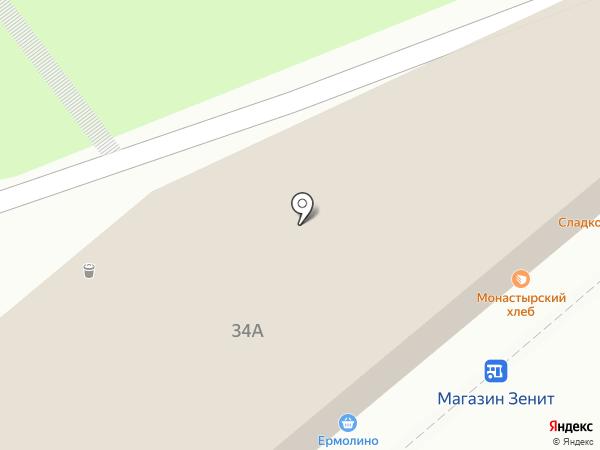 СимТел на карте Красноярска