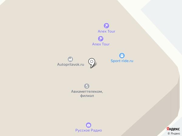 ЯРСКМЕБЕЛЬ на карте Красноярска