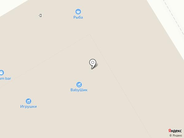 Бон Багет на карте Красноярска