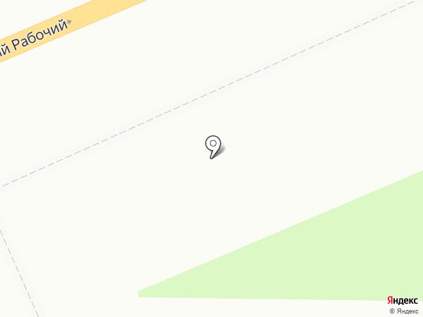 Корица на карте Красноярска