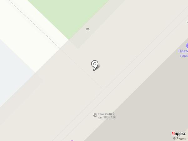 Дентоша на карте Красноярска