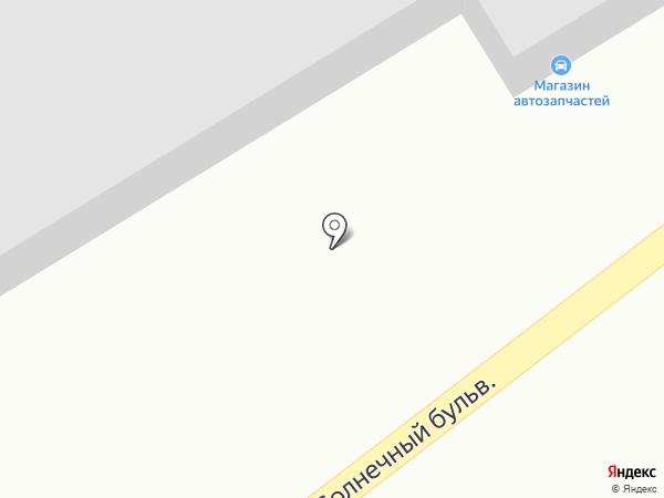Магазин автозапчастей на карте Красноярска