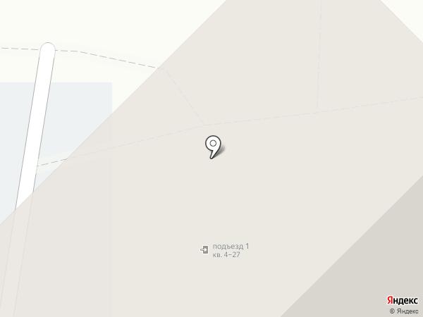 Пегас на карте Красноярска