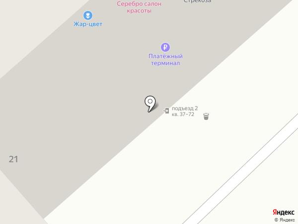 Партерра на карте Красноярска