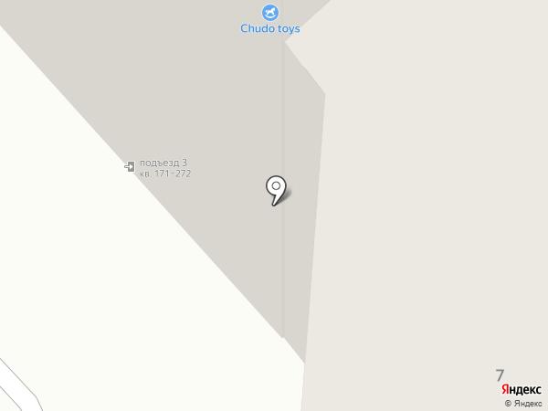Герцогиня на карте Красноярска