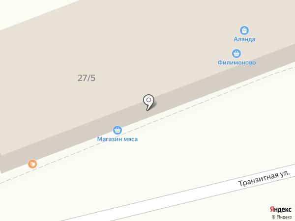Магазин автомасел на карте Красноярска