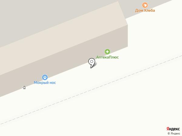 Дальен на карте Красноярска