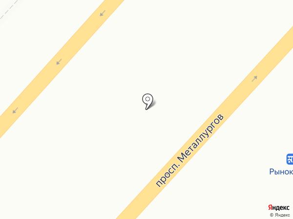 МЕТАСТРОЙ на карте Красноярска