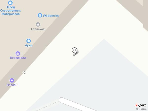 Орфей на карте Красноярска