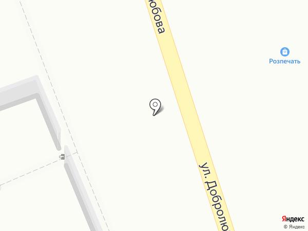 Розпечать на карте Красноярска
