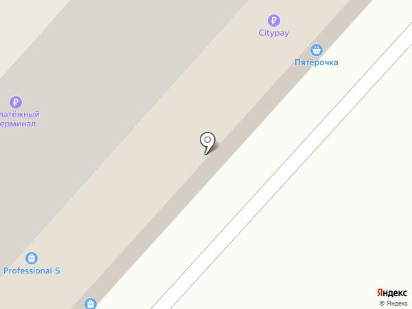 Серебряный шар на карте Красноярска