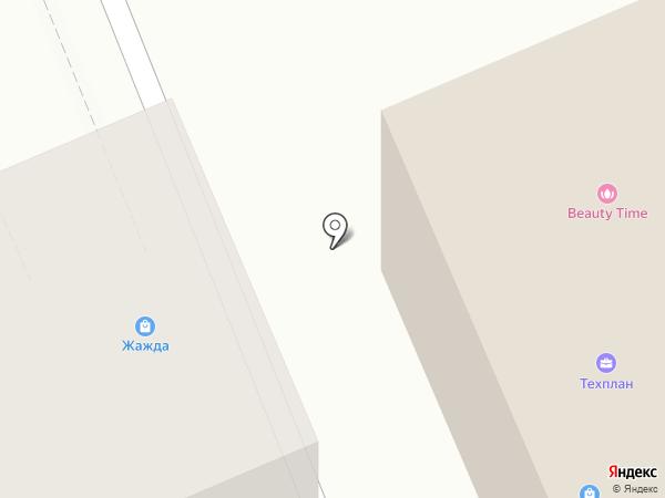 Автополис24 на карте Красноярска