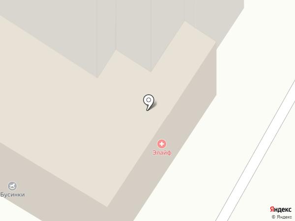 Акем на карте Красноярска
