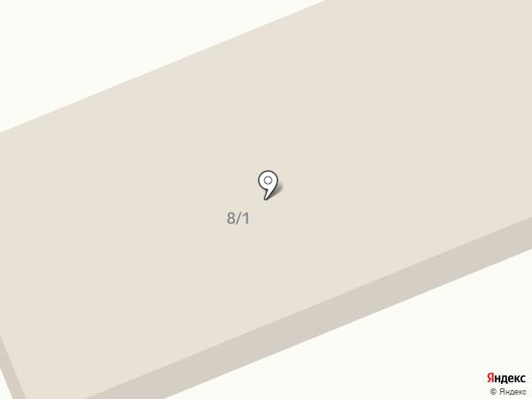 Авангард на карте Красноярска