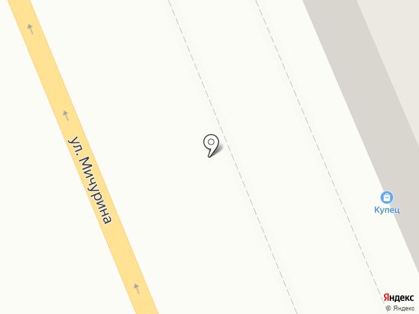 Купец на карте Красноярска