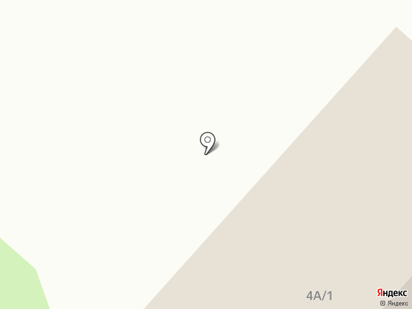 Теплый контур на карте Красноярска