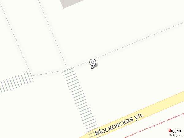 Киоск по продаже лотерейных билетов на карте Красноярска