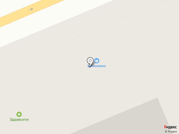 Живика на карте Красноярска