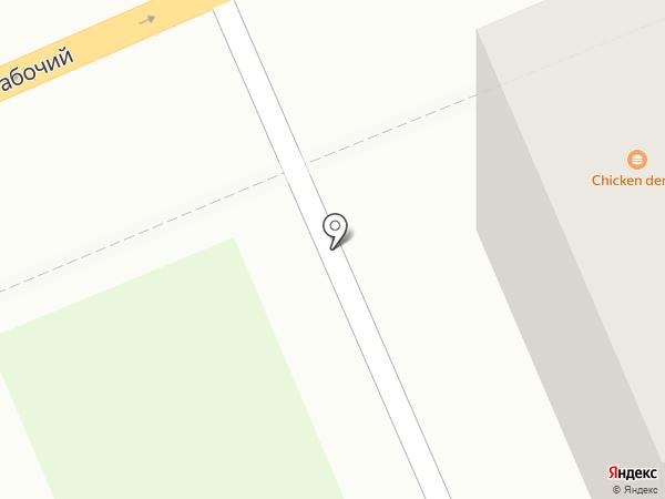 GREEN HOUSE на карте Красноярска