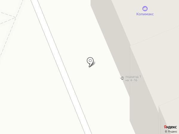 Спутник на карте Красноярска