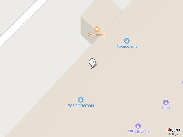 Магазин женской одежды на карте Красноярска