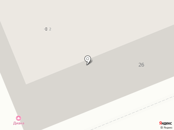 АМБАССАДОР на карте Красноярска