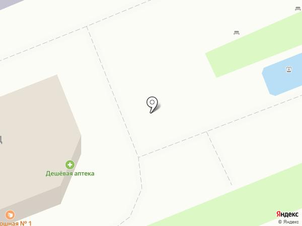 Продуктовый магазин на карте Красноярска