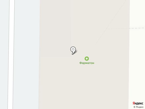 Томат на карте Красноярска