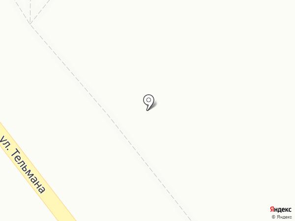 Виана на карте Красноярска