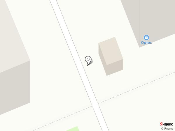 Хлебница на карте Красноярска