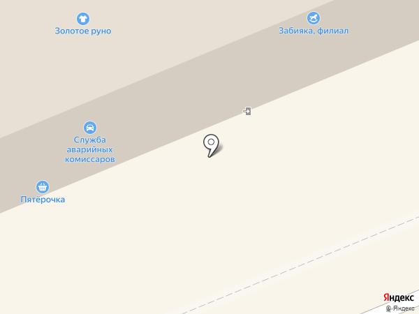 Салон нижнего белья на карте Красноярска