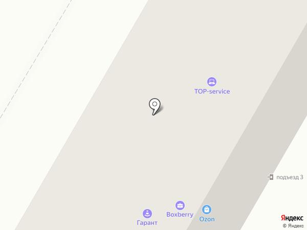 Ермак на карте Красноярска