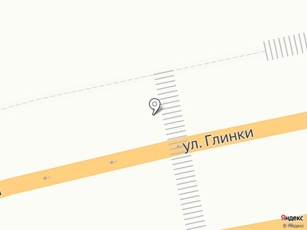 Киоск по продаже фастфудной продукции на карте Красноярска