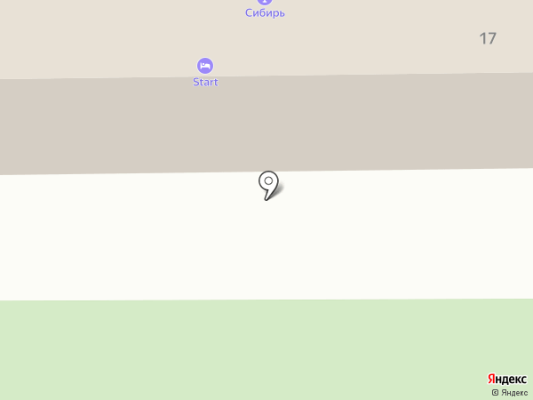 Старт на карте Красноярска