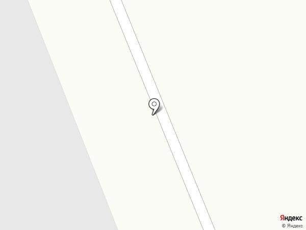 Застава на карте Березовки
