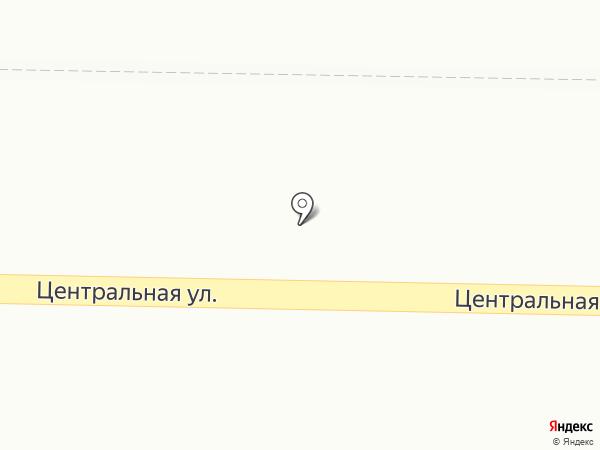 Кристалл на карте Березовки