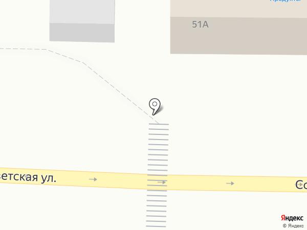 Продуктовый магазин на карте Березовки
