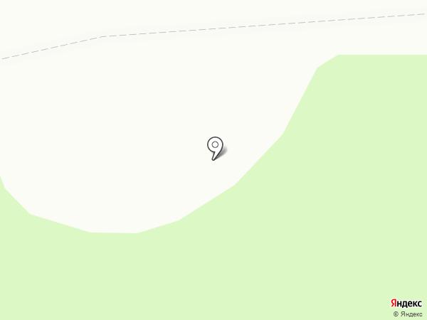 Омега на карте Березовки