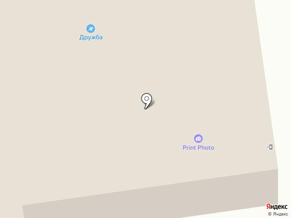 Дружба на карте Есаулово