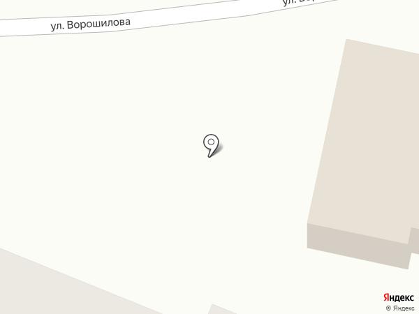 Огонек на карте Есаулово
